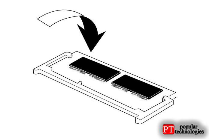 установить оперативную память в ноутбук3