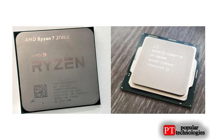AMD Zen 2 и процессор Intel Core 10-го поколения1