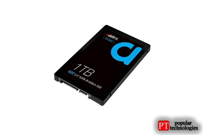 AddLink S22 QLC SATA 2,5-дюймовый твердотельный накопитель