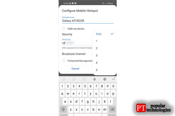 Как раздать интернет с Android22