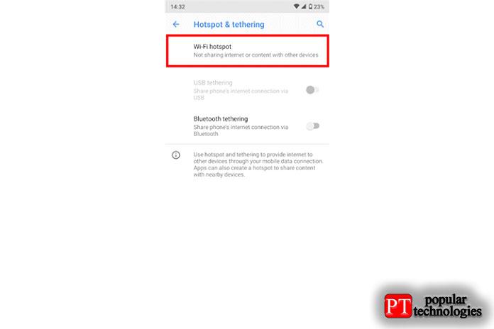 Как раздать интернет с Android7