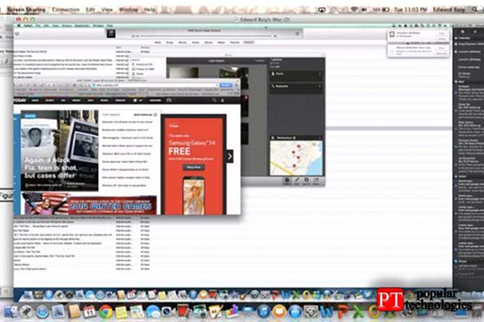Подключение к удаленному рабочему столу Mac