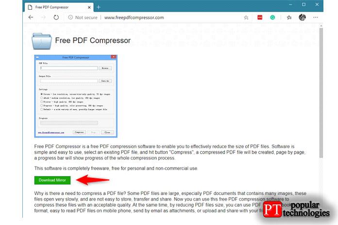 Скачать бесплатный PDF-компрессор