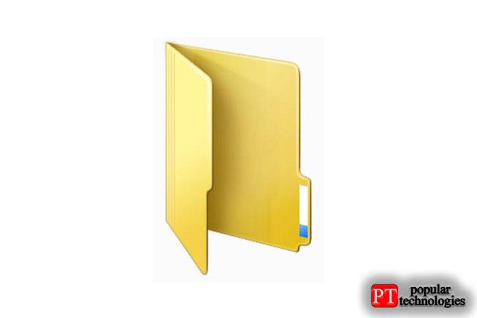 значок папки в Windows111