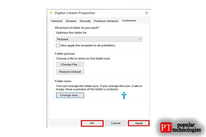 значок папки в Windows12