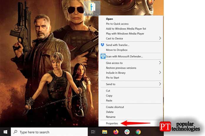 значок папки в Windows5