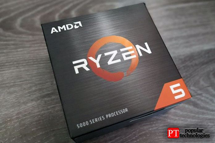 AMD Ryzen 5 5600X Коробка