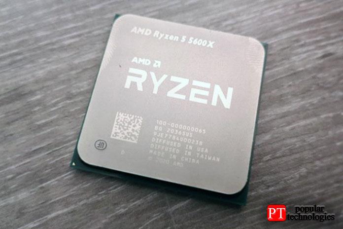 Процессор AMD Ryzen 5 5600X для настольных ПК