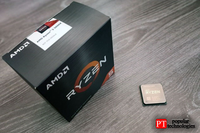 Распаковка процессора AMD Ryzen 5 5600X