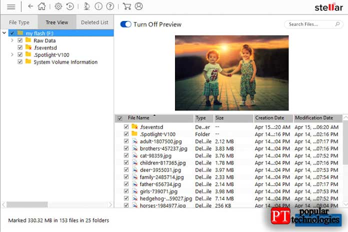 Stellar Data Recovery Professional для Windows
