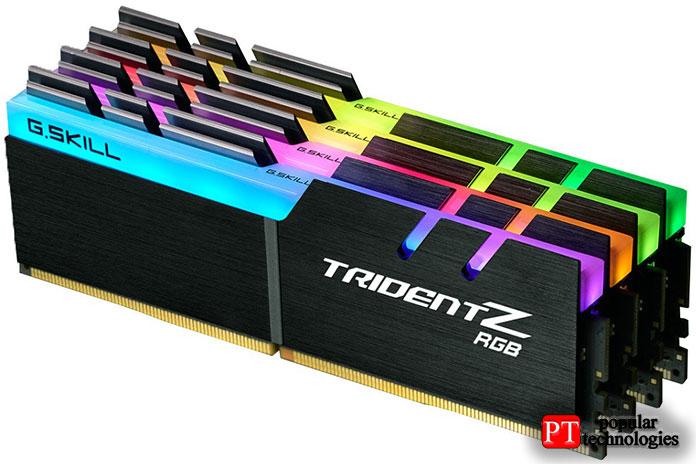 G.Skill TridentZ RGB 4000МГц