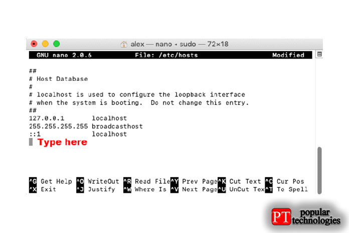 В этом файле не указаны хосты, что означает, что все поиски IP-адресов будут выполняться через DNS-сервер