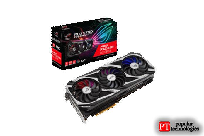 ASUS AMD Radeon RX6800ROG Strix OC16ГБ