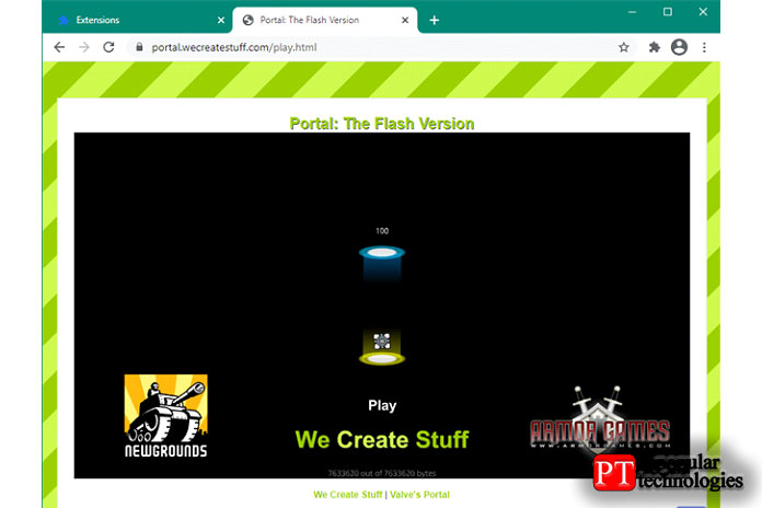 Adobe Flash Player плагин разблокирован