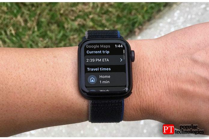 Как использовать Google Maps на Apple Watch