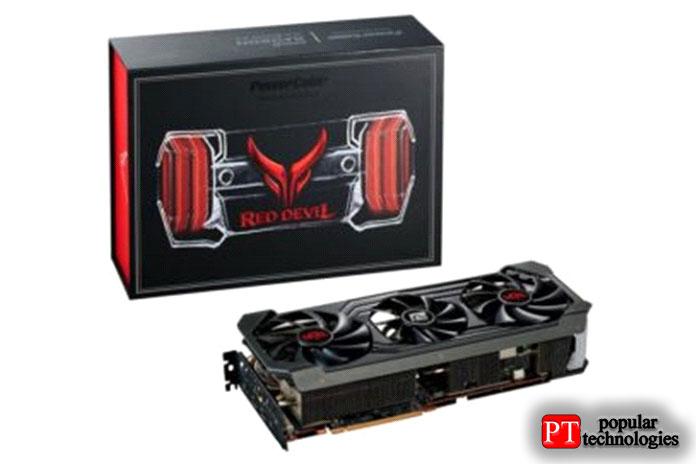 PowerColor Radeon RX6900XT Red Devil 16ГБ