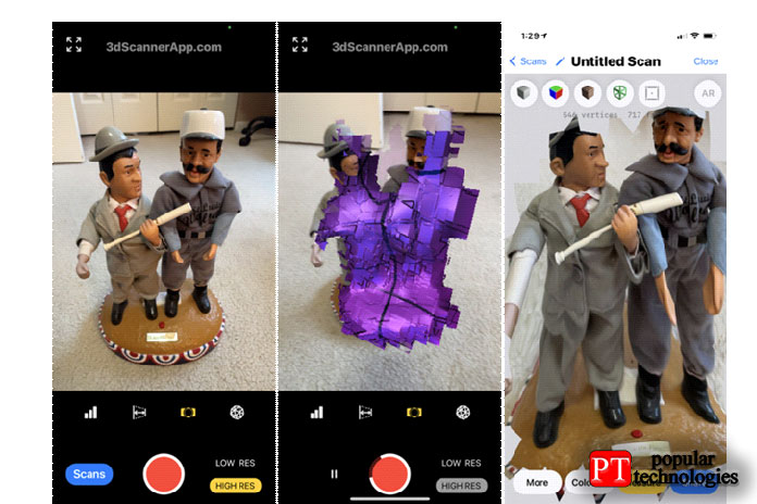 Приложение для 3D-сканера