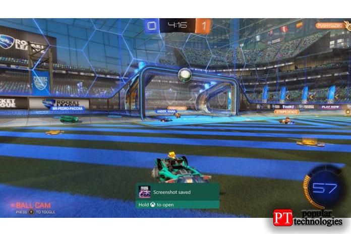 Сделайте снимок экрана или запишите игровой процесс