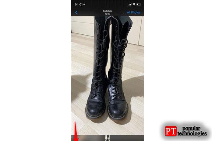 Установите фон для iPhone изприложения «Камера»