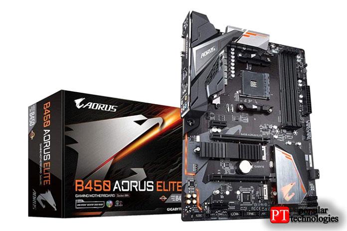 Gigabyte B450 AROUS Elite V2