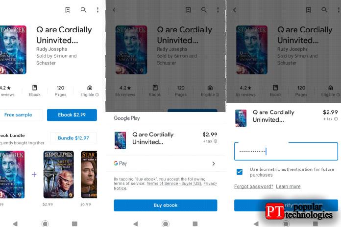 Использование Google Pay наAndroid