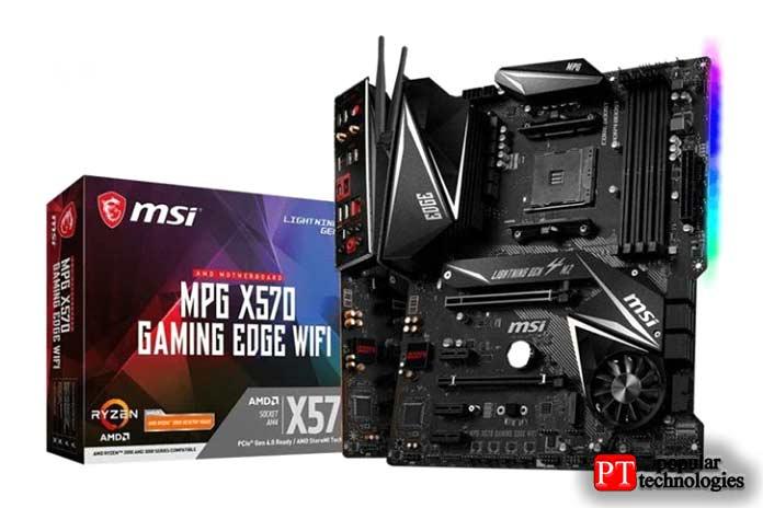 MSI MPG X570GAMING EDGE WIFI