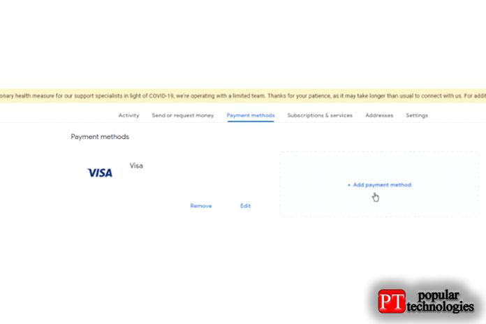 Настройте Google Pay изИнтернета3