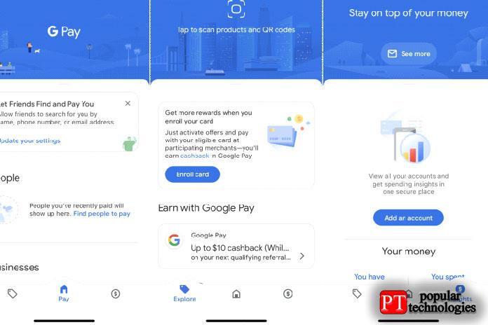 Настройте Google Pay наiPhone3
