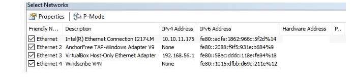 Сетевой мониторMS необнаружит сетевые адаптеры вашего компьютера после установки