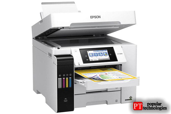Струйные принтеры Epson EcoTank Pro могут сэкономить вам минимум никель
