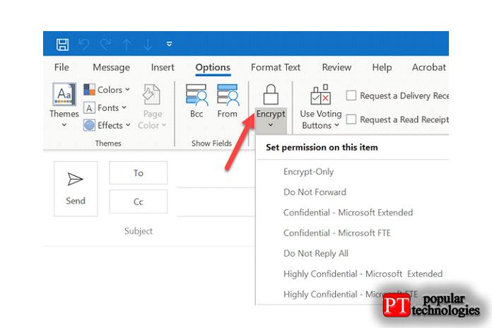 Теперь перейдите ксозданию нового электронного письма