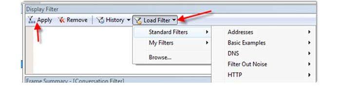 Выможете легко выбрать тип сетевых пакетов, которые хотите отслеживать накомпьютере сWindows