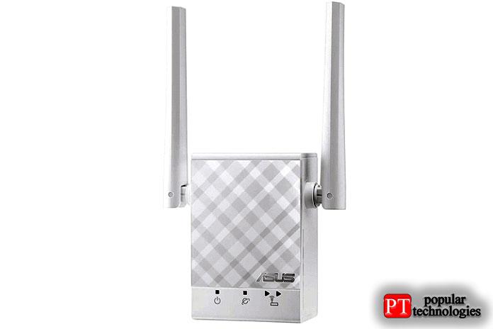 Двухдиапазонный повторитель Wi-Fi Asus AC750