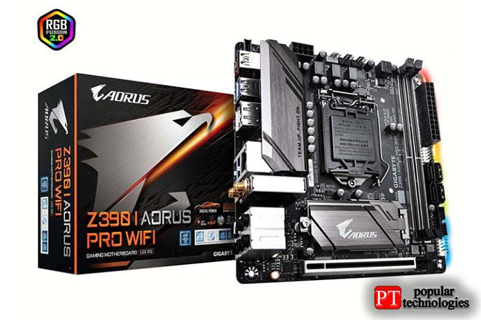 Gigabyte Z390IAORUS PRO WiFi