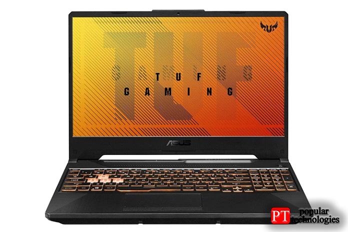 Игровой ноутбук ASUS TUF 60Гц (GTX 1650Ti)