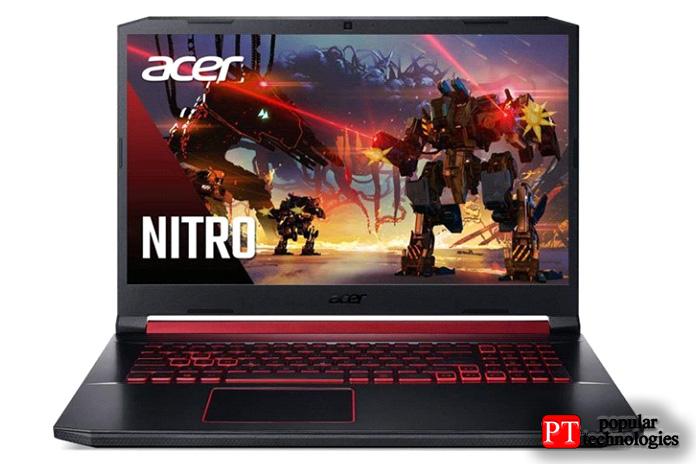 Игровой ноутбук Acer Nitro5 (GTX 1650)