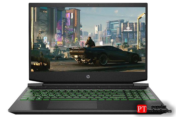 Игровой ноутбук HPPavilion 60Гц