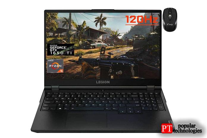 Игровой ноутбук Lenovo Legion5 (GTX 1650Ti)