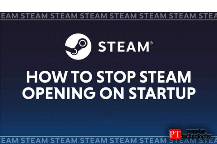 Как отключить автозапуск Steam