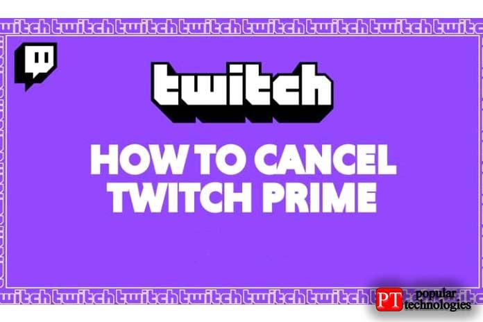 Как отменить подписку Twitch Prime