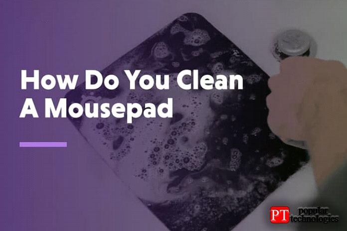 Как правильно чистить коврик для мыши