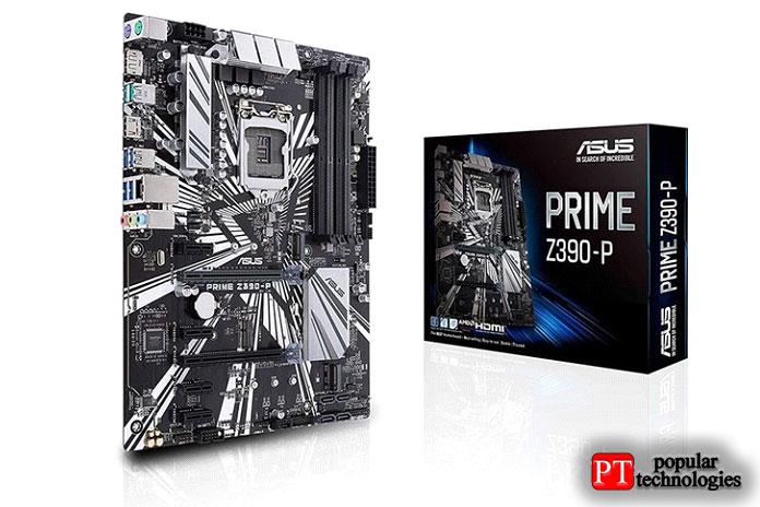 Материнская плата ASUS Prime Z390-P ATX