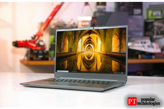 Наконец, унас есть Schenker Via14, 14-дюймовый ноутбук, ориентированный намобильность