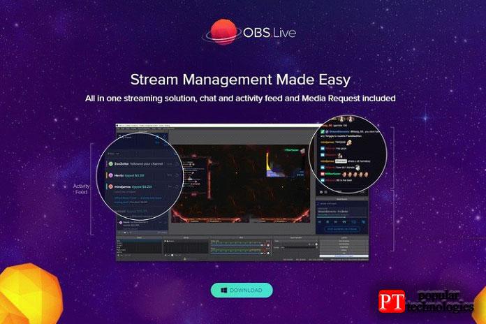 Ответ— плагин OBS.Live отStreamElements