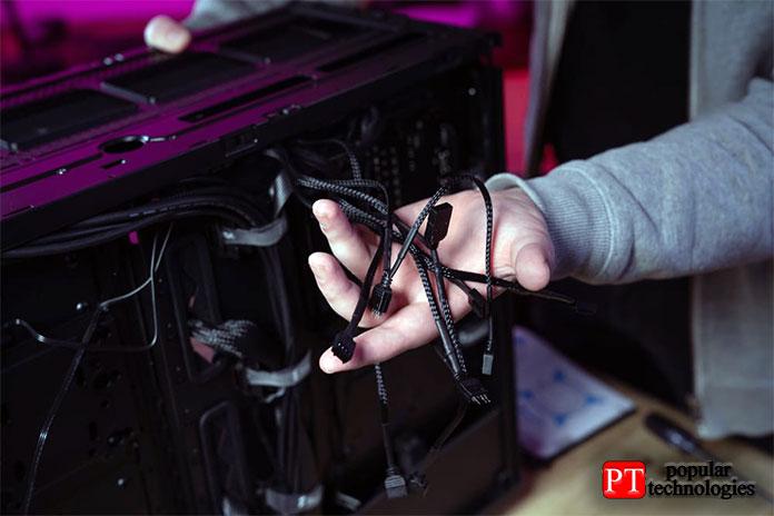 Составление исортировка кабелей