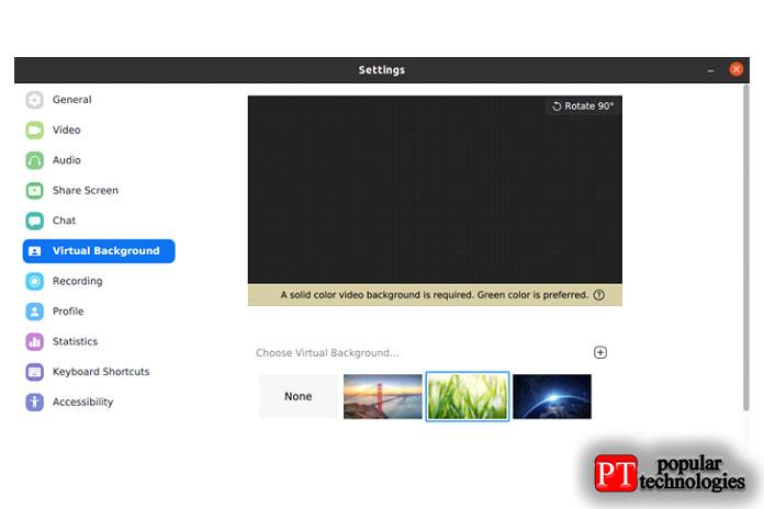 Видео фильтры Zoom недоступны