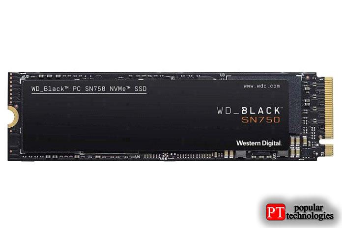 WD BLACK P50 SSD NVMe 1 ТБ