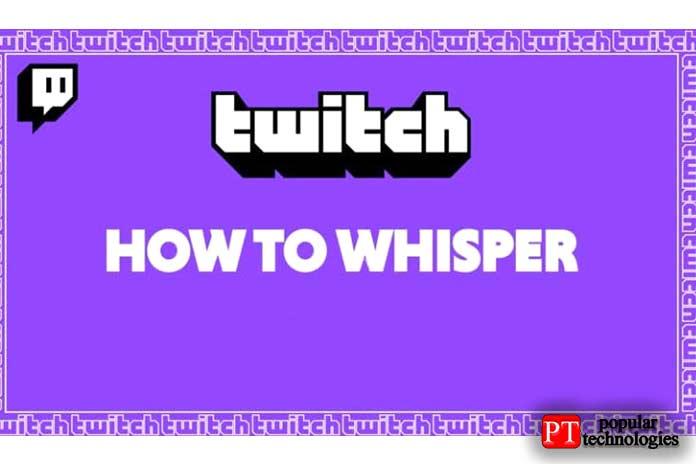 использовать Twitch Whisper