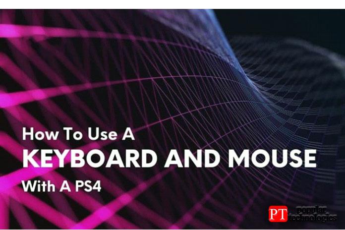 подключить к PS4 клавиатуру и мышь