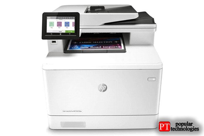 Беспроводной лазерный принтер HP Color LaserJet Pro Multifunction M479fdw